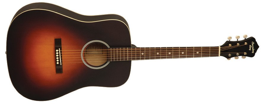 Dirty Thirties Satin Sunburst Dreadnought Acoustic Guitar