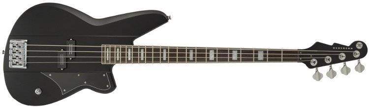 Satin Black Signature Electric Bass