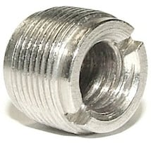 "3/8""-16 Female to 5/8""-27 Male Thread Adapter"