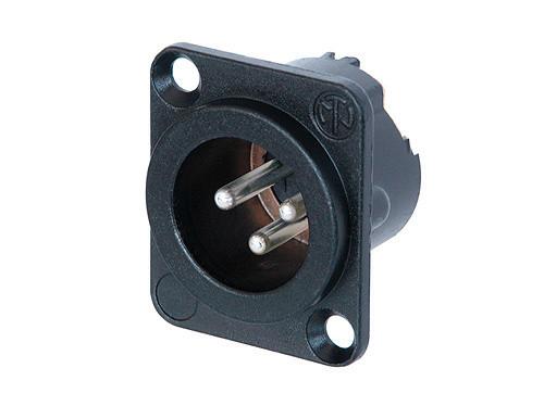 3-pin Male DLX Series XLR Connector