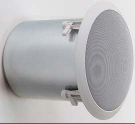 "Ceiling Speaker 6"" 75w 70v/8-ohm, High-fidelity"