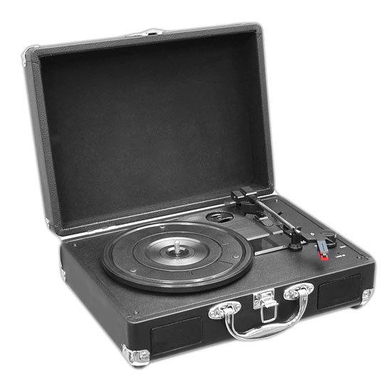 Retro Belt-Drive Turntable with USB Out