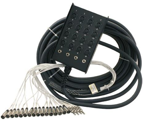RapcoHorizon Music S8X4-50FF  50 ft 12 Channel 8x4 Snake with XLR Returns S8X4-50FF