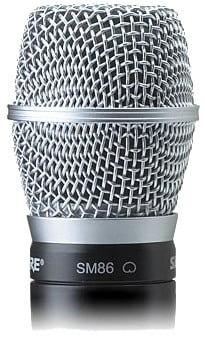 Wireless Handheld Transmitter with SM86 Microphone