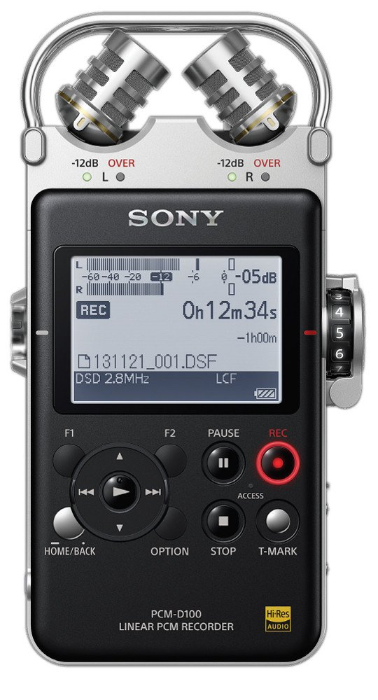 Sony PCMD100 High Resolution Portable Stereo Recorder | Full