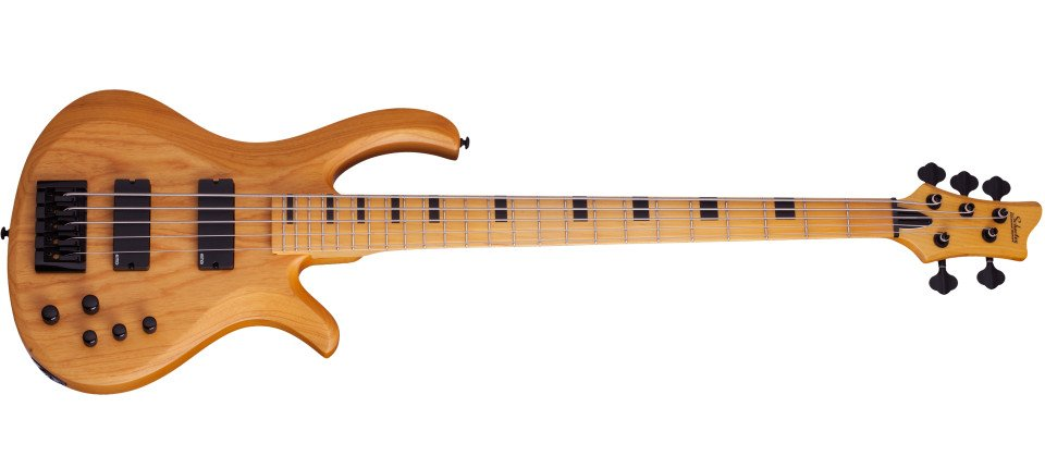 Aged Natural Satin 5-String Electric Bass