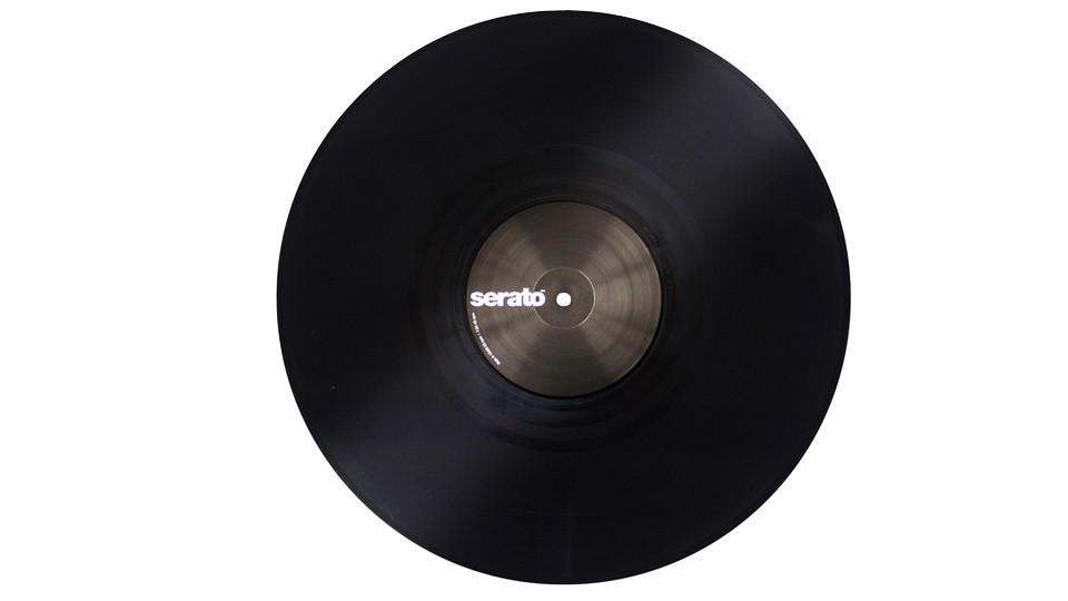 """Pair of Performance Series 12"""" Control Vinyl in Black"""
