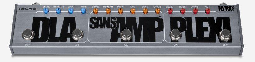 Multi Effects Pedal with SansAmp