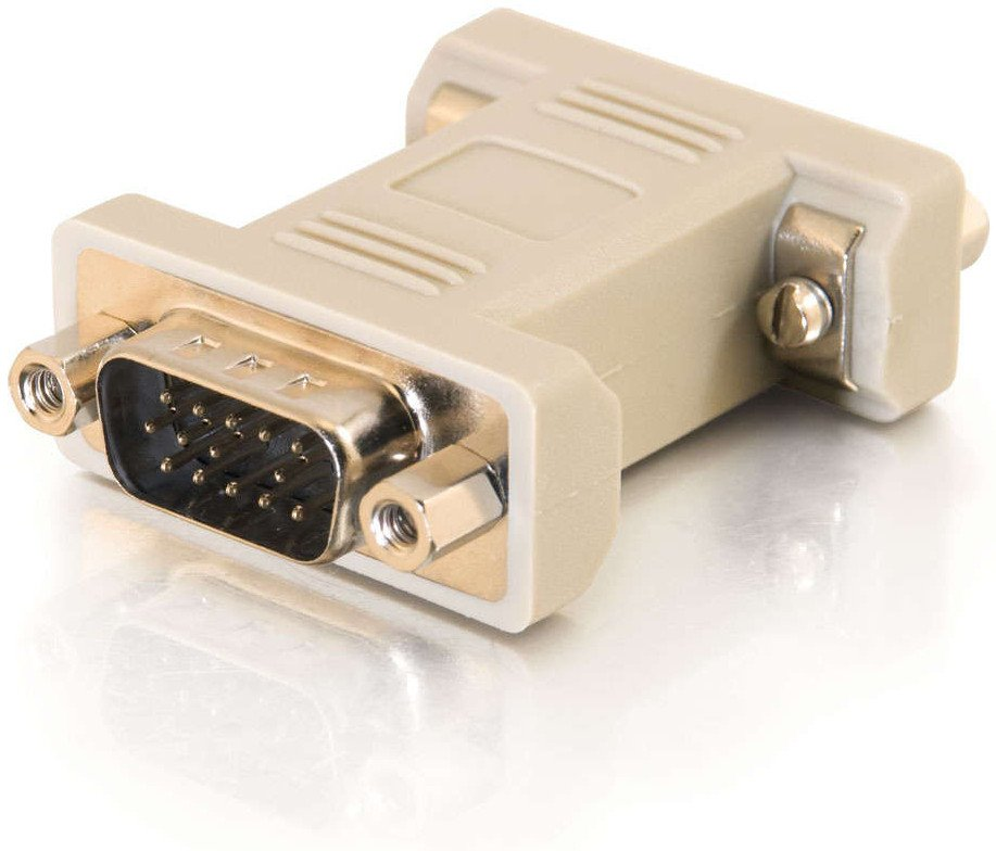HD15 VGA Male to Female Port Saver Adapter