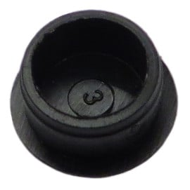 Black Channel Gain Cap (Without Knob) For ACP888