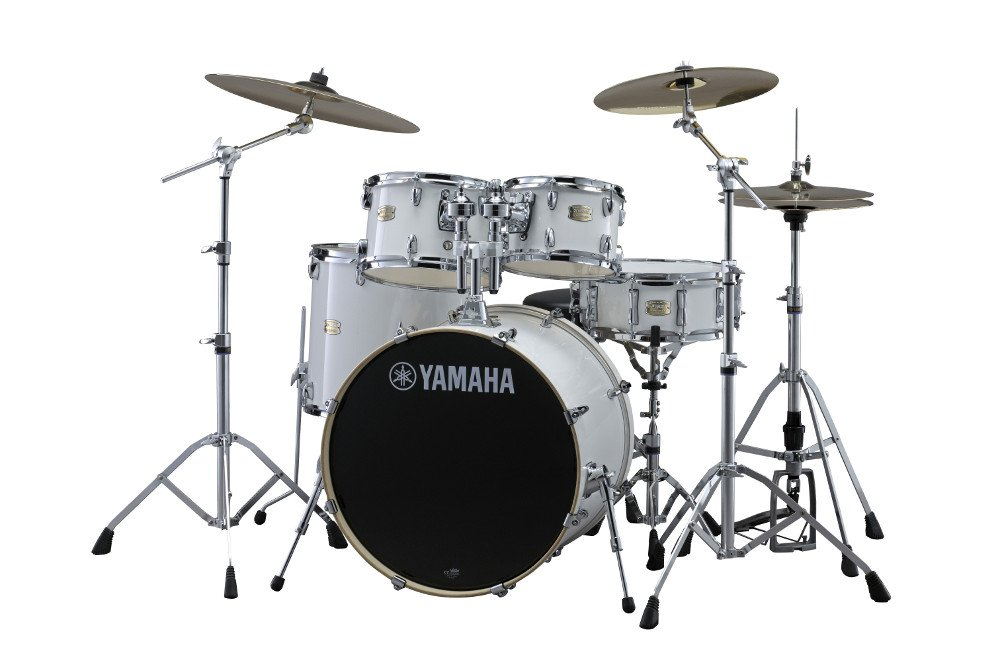 Yamaha SBP2F56W 5-Piece Stage Custom Birch Shell Pack with Hardware SBP2F56W