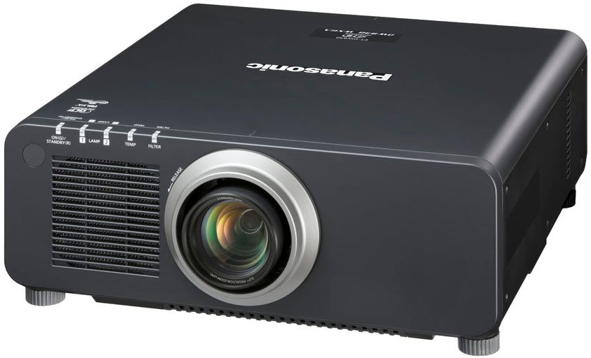 8500 Lumens 1DLP WXGA Projector in Black