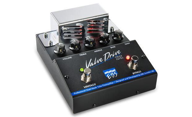 EBS ValveDrive Bass DI Preamp/Pedal VALVEDRIVE