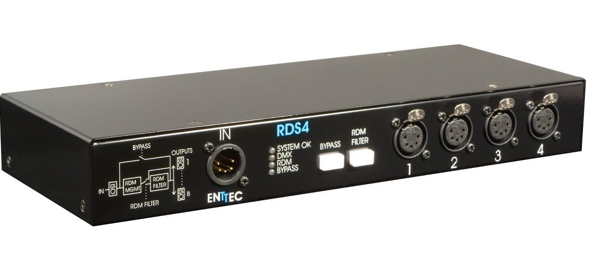 Enttec 70037 4-Port DMX/RDM Isolated Splitter   Full Compass