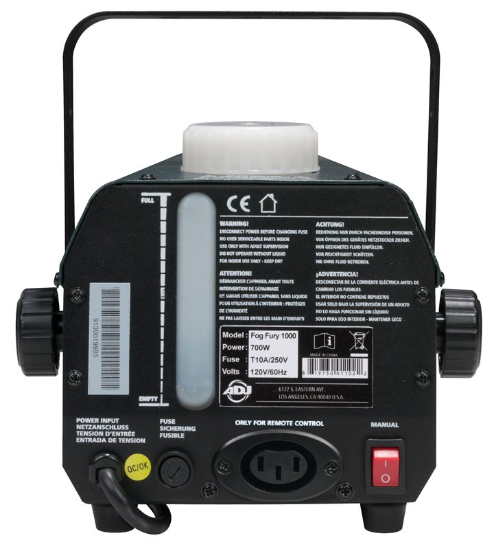 650W Compact Fog Machine