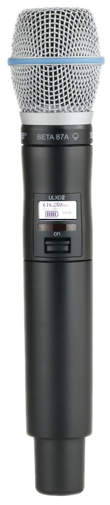 Beta87A Handheld Transmitter in the H50 Band