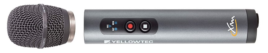 Yellowtec USA YT5060 iXM Handheld Recorder with Dynamic Supercardioid Mic Head YT5060