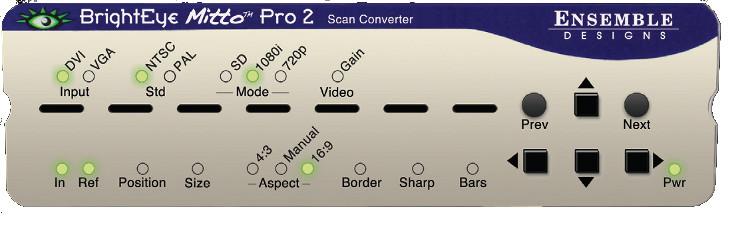 BrightEye Mitto 2 Pro Scan Converter