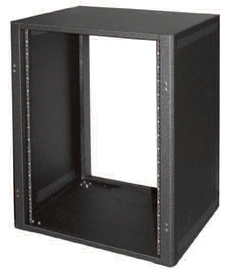 12-Space Desk Top Cabinet Rack