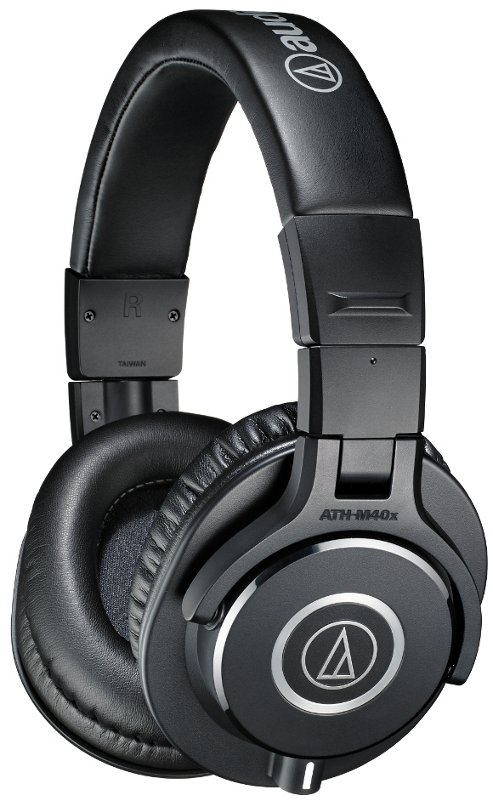 Audio-Technica ATH-M40x M Series Professional Closed Back Headphones with Detachable Cables ATH-M40X