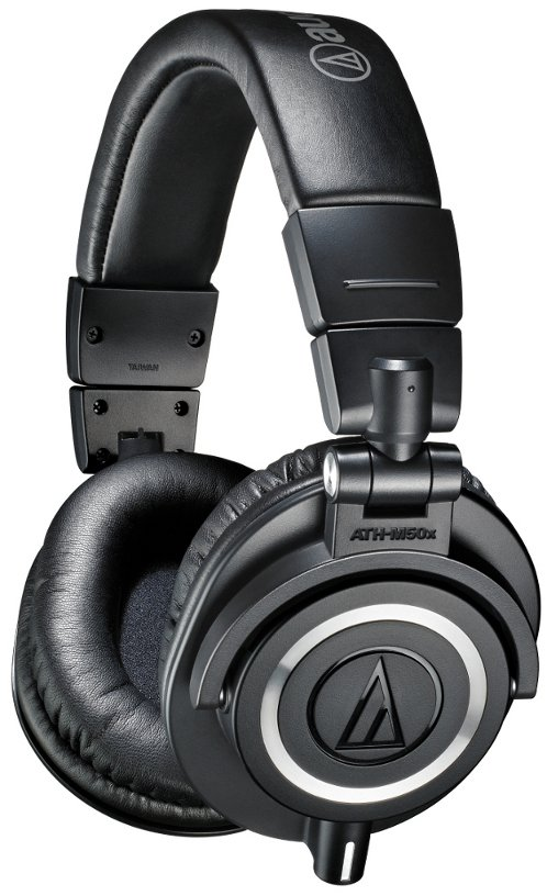 M Series Closed Back Professional Stereo Headphones with 45mm Drivers and Detachable Cables