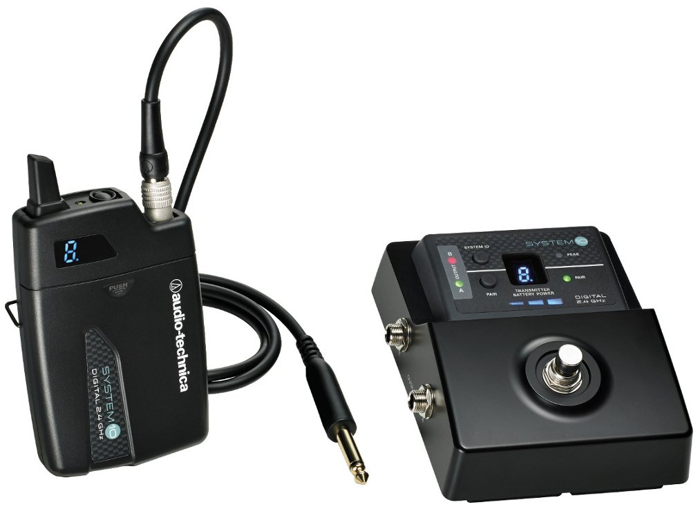 System 10 Stompbox Digital Wireless Guitar System