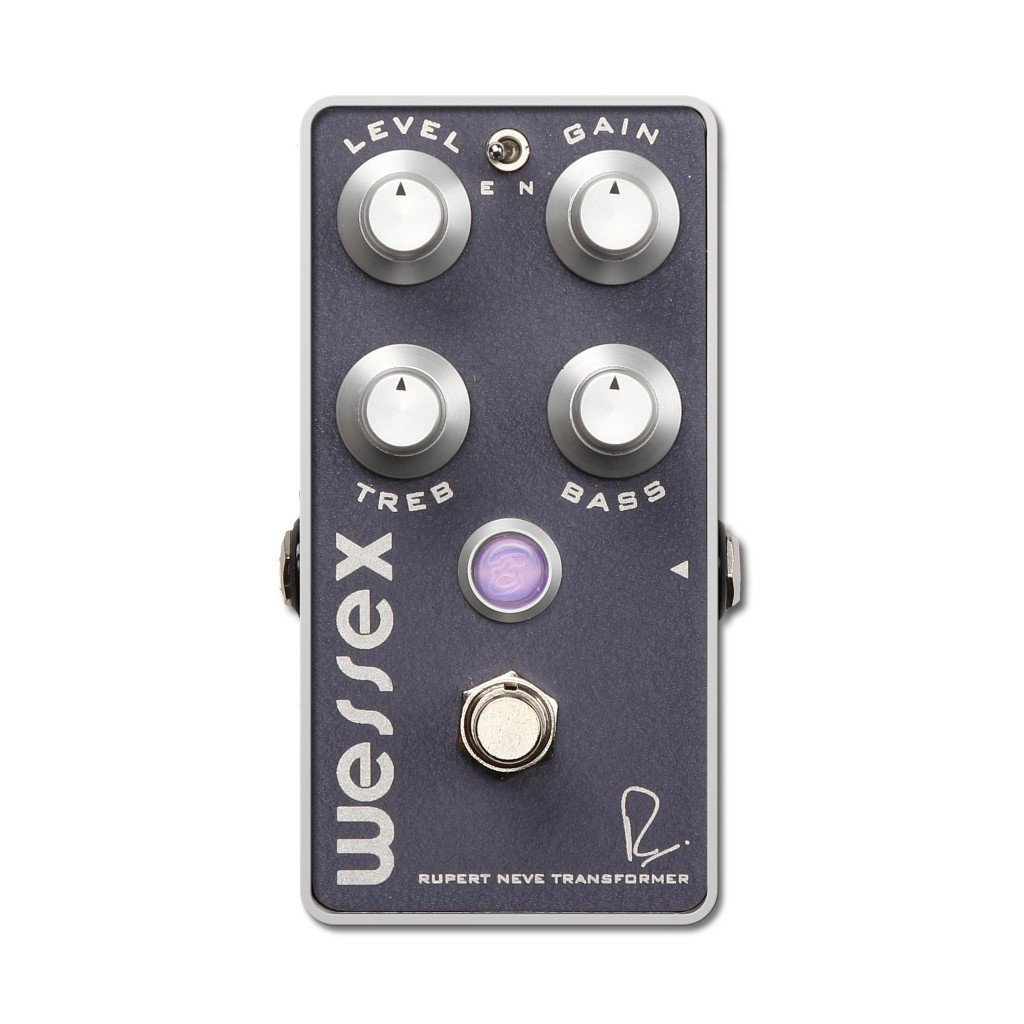 Overdrive Pedal with Rupert Neve Transformer