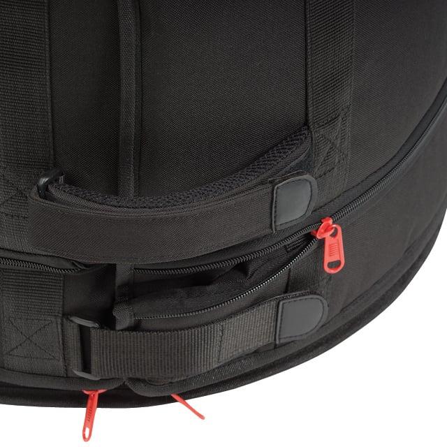 "Gibraltar GFBBD22 22"" Bass Drum Flatter Bag with Zippered Height Adjustment GFBBD22"