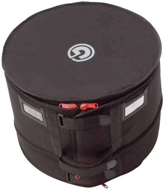 "24"" Bass Drum Flatter Bag with Zippered Height Adjustment"