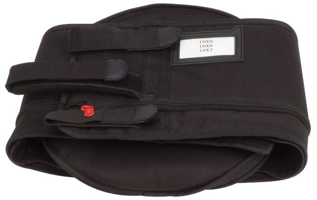 "14"" Snare Drum Flatter Bag with Zippered Height Adjustmen"