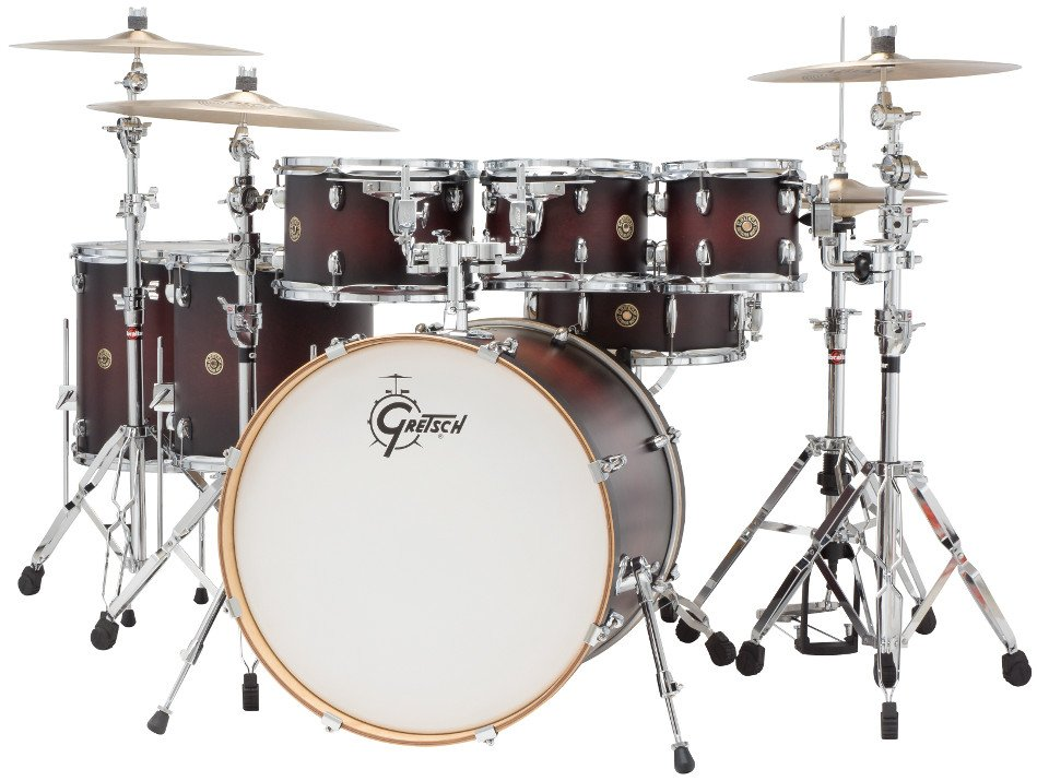 "Catalina Maple 7 Piece Shell Pack with 8"", 10"", 12"", 14"", 16"" Toms, 18""x22"" Bass Drum, 6""x14"" Snare"