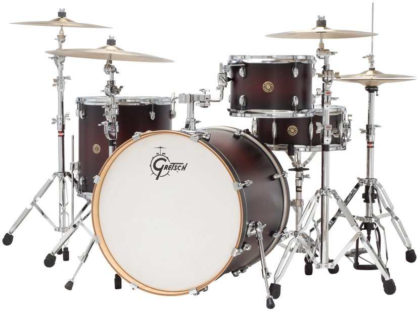 """Gretsch Drums CM1-E824S Catalina Maple 4 Piece Shell Pack with 12"""", 16"""" Toms, 18""""x22"""" Bass Drum, 6""""x14"""" Snare Drum CM1-E824S"""
