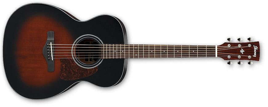 Dark Violin Sunburst High Gloss Artwood Series Grand Concert Acoustic Guitar