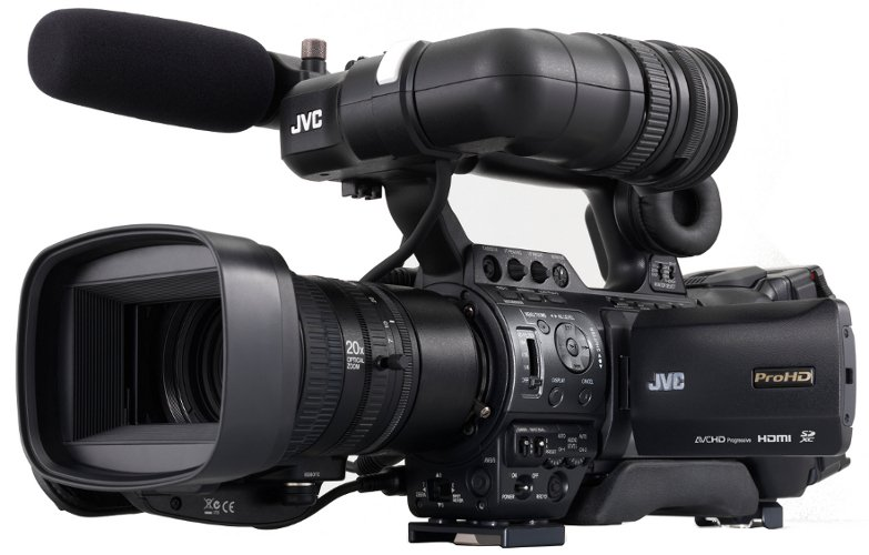"1/3"" ProHD Shoulder Camcorder with 20x Fujinon Lens"