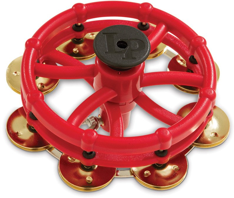 Click Hi-Hat Tambourine with Brass Jingles
