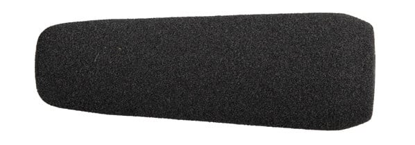 12cm Black Foam Windscreen