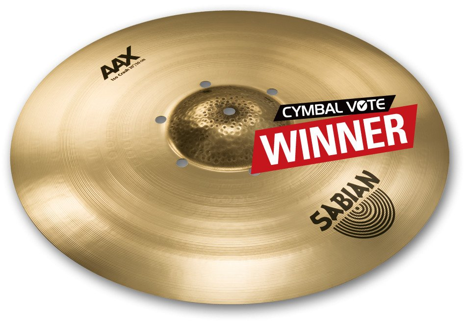 "20"" AAX Iso Crash Cymbal in Natural Finish"