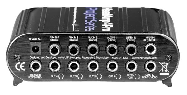 5 Channel Headphone Amplifier with Talkback