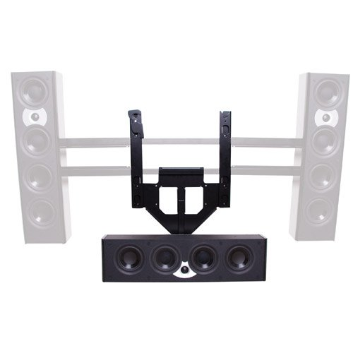 Center Channel Speaker Adapter Mount for Screens