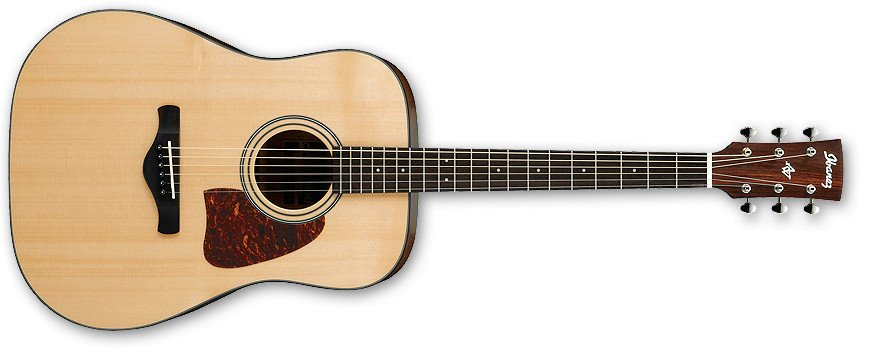 Natural High Gloss Artwood Series Dreadnought Acoustic Guitar