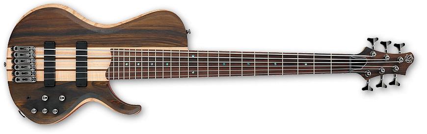 Natural Flat BTB Bass Workshop Series 6-String Electric Bass