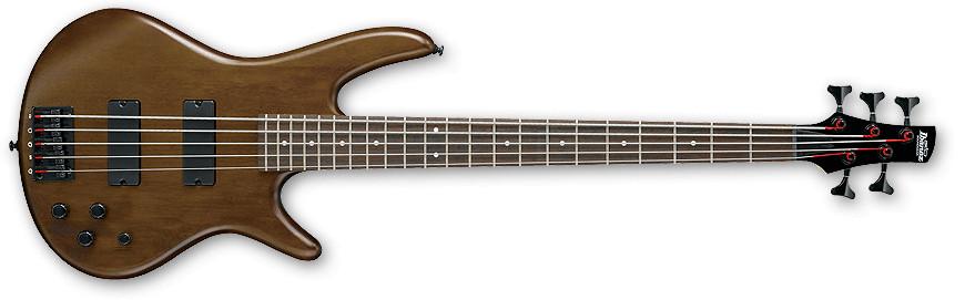 Walnut Flat Gio Series 5-String Electric Bass
