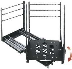 "Middle Atlantic Products SRSR-X-24 24RU Rack with Rotating Sliding Rail System, 23"" Depth SRSR-X-24"