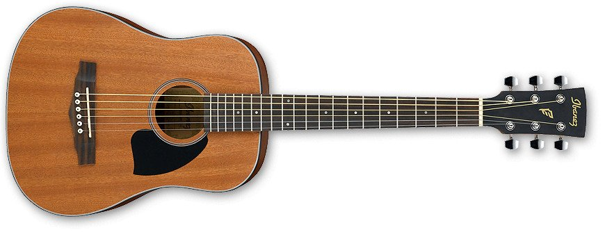 Open Pore Natural PF Performance Series 3/4-Sized Dreadnought Acoustic Guitar