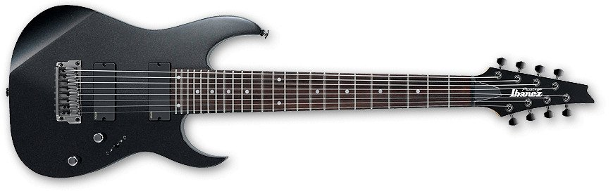 RG Series 8-String Electric Guitar with Hardshell Case