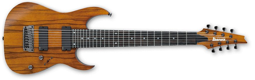 Hazelnut Ale Brown RG Prestige Series 8-String Electric Guitar