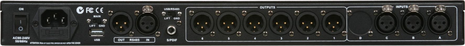 DSPOT 3x6 Digital Signal Processor
