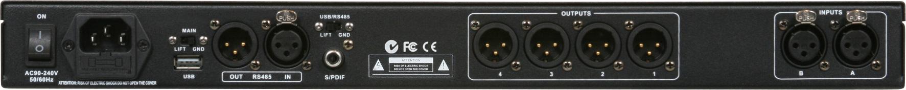 DSPOT 2x4 Digital Signal Processor