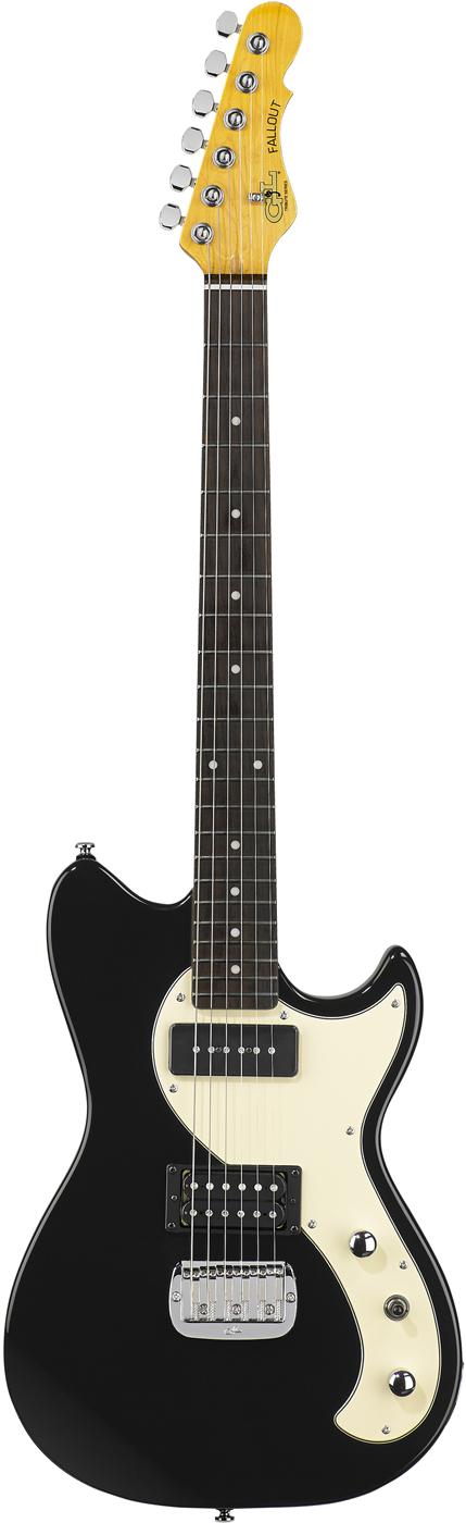 Gloss Black Tribute Series Electric Guitar
