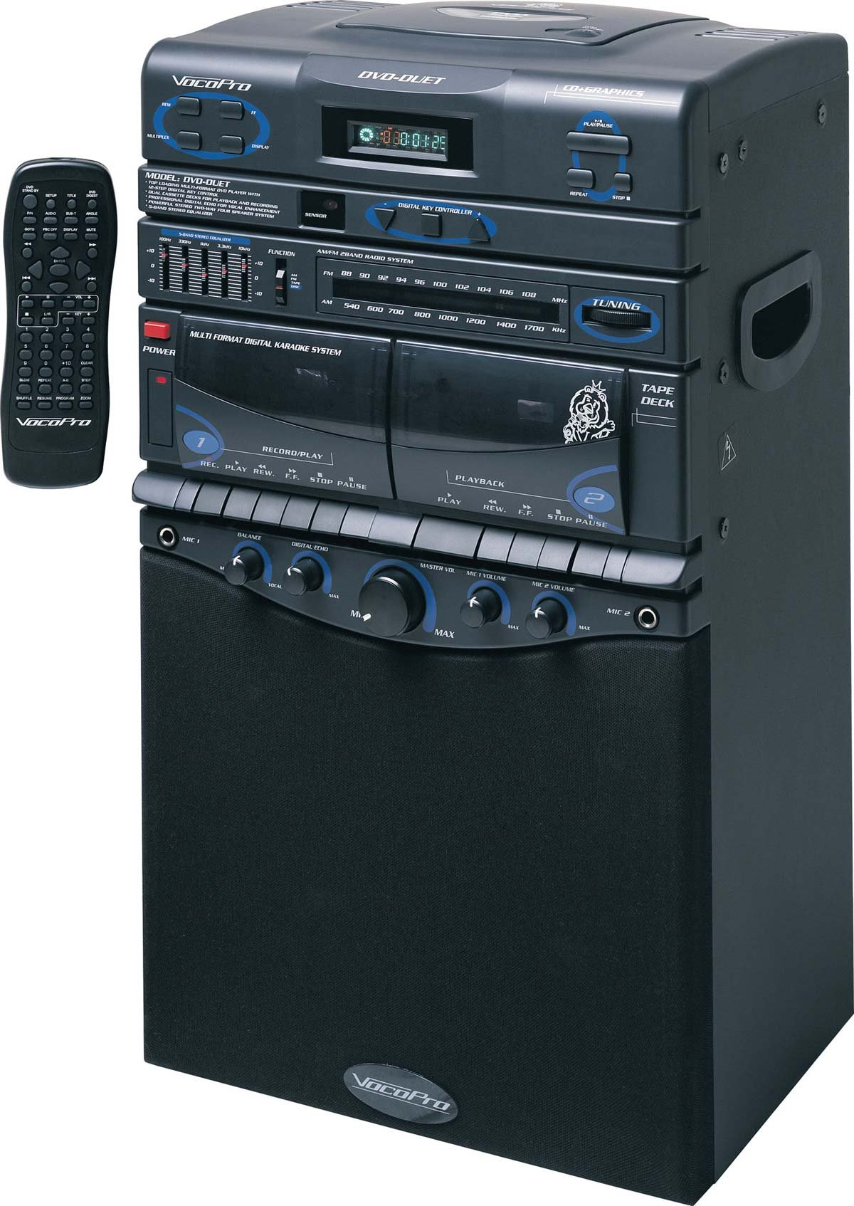 80W Portable Karaoke System